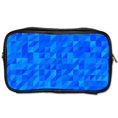 Pattern Halftone Geometric Toiletries Bag (two Sides)