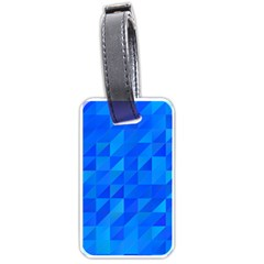 Pattern Halftone Geometric Luggage Tags (two Sides)