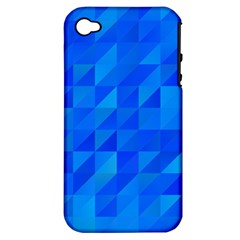 Pattern Halftone Geometric Apple Iphone 4/4s Hardshell Case (pc+silicone)