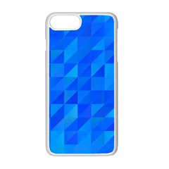 Pattern Halftone Geometric Apple Iphone 7 Plus Seamless Case (white) by Alisyart