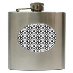 Ornamental Abstract Hip Flask (6 Oz) by Alisyart