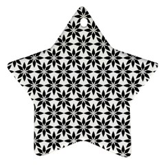 Ornamental Abstract Star Ornament (two Sides)