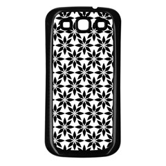 Ornamental Abstract Samsung Galaxy S3 Back Case (black)