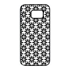 Ornamental Abstract Samsung Galaxy S7 Edge Black Seamless Case by Alisyart