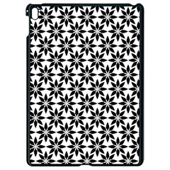 Ornamental Abstract Apple Ipad Pro 9 7   Black Seamless Case