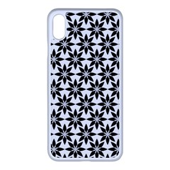 Ornamental Abstract Apple Iphone Xs Max Seamless Case (white)