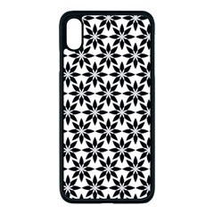 Ornamental Abstract Apple Iphone Xs Max Seamless Case (black)