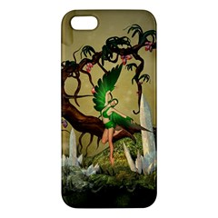 Cute Fairy Apple Iphone 5 Premium Hardshell Case