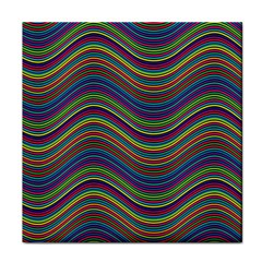 Ornamental Line Abstract Face Towel