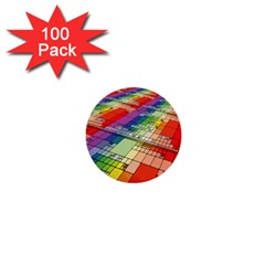 Perspective Background Color 1  Mini Buttons (100 Pack)
