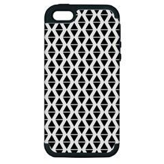 Triangle Seamless Pattern Apple Iphone 5 Hardshell Case (pc+silicone)