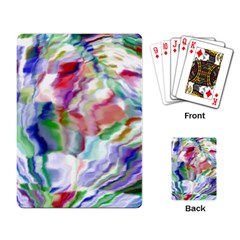 Crazy Colors  12 Playing Cards Single Design by MoreColorsinLife