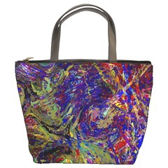 Crazy Colors  11 Bucket Bag