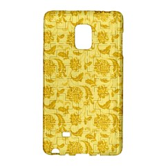 Vintage Pattern 11901e Samsung Galaxy Note Edge Hardshell Case