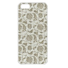 Vintage Pattern 11901b Apple Iphone 5 Seamless Case (white)