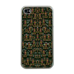Love My Leggings And Top Ornate Pop Art`s Collage Apple Iphone 4 Case (clear)