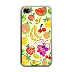 Seamless Pattern Desktop Decoration Apple Iphone 4 Case (clear)