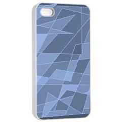 Lines Shapes Pattern Web Creative Apple Iphone 4/4s Seamless Case (white)