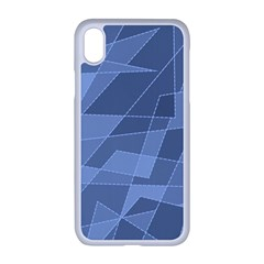 Lines Shapes Pattern Web Creative Apple Iphone Xr Seamless Case (white)