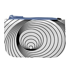 Spiral Line Large Coin Purse