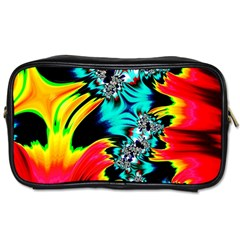 Fractal Mandelbrot Art Wallpaper Toiletries Bag (one Side)