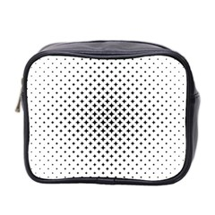 Star Curved Pattern Mini Toiletries Bag (two Sides)