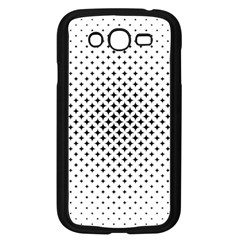 Star Curved Pattern Samsung Galaxy Grand Duos I9082 Case (black)