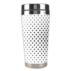 Star Curved Pattern Stainless Steel Travel Tumblers