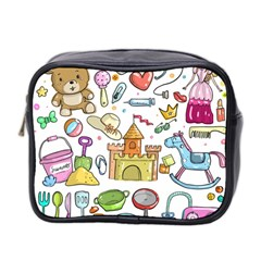 Baby Equipment Child Sketch Hand Mini Toiletries Bag (two Sides)
