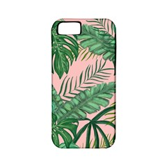 Tropical Greens Leaves Apple Iphone 5 Classic Hardshell Case (pc+silicone)