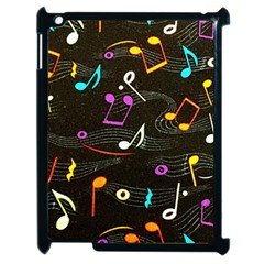Fabric Cloth Textile Clothing Apple Ipad 2 Case (black)