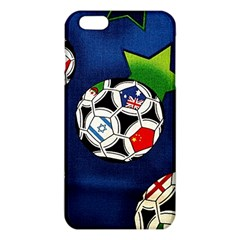 Textile Football Soccer Fabric Iphone 6 Plus/6s Plus Tpu Case