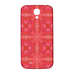 Triangle Mosaic Red Pattern Mirror Samsung Galaxy S4 I9500/i9505  Hardshell Back Case by Jojostore