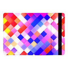 Squares Pattern Geometric Seamless Apple Ipad Pro 10 5   Flip Case