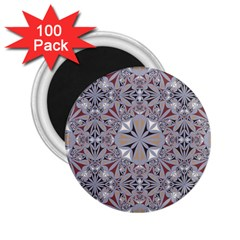 Triangle Pattern Kaleidoscope 2 25  Magnets (100 Pack)  by Jojostore