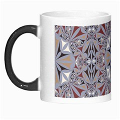 Triangle Pattern Kaleidoscope Morph Mugs