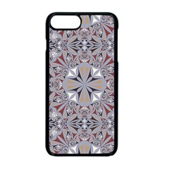 Triangle Pattern Kaleidoscope Apple Iphone 8 Plus Seamless Case (black) by Jojostore