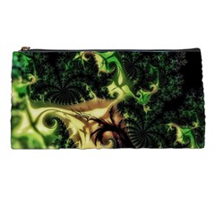 Fractal Cauliflower Green Rendered Pencil Cases