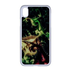 Fractal Cauliflower Green Rendered Apple Iphone Xr Seamless Case (white)