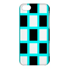 Squares Pattern Apple Iphone 5c Hardshell Case by AnjaniArt
