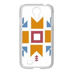 Star Flag Unique Samsung Galaxy S4 I9500/ I9505 Case (white) by AnjaniArt