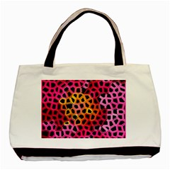 Mosaic Structure Pattern Background Basic Tote Bag (two Sides)