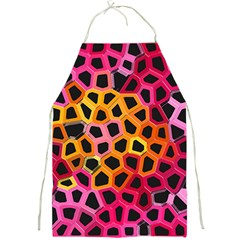 Mosaic Structure Pattern Background Full Print Aprons