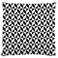 Seamless Abstract Geometric Pattern Large Cushion Case (two Sides)