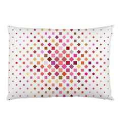 Square Pattern Background Repeat Pillow Case (two Sides) by AnjaniArt