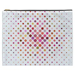 Square Pattern Background Repeat Cosmetic Bag (xxxl)