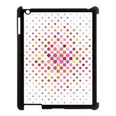 Square Pattern Background Repeat Apple Ipad 3/4 Case (black) by AnjaniArt