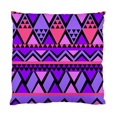 Seamless Purple Pink Pattern Standard Cushion Case (two Sides) by AnjaniArt