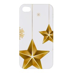 Star Christmas Ornaments Apple Iphone 4/4s Hardshell Case