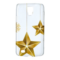 Star Christmas Ornaments Samsung Galaxy S4 Active (i9295) Hardshell Case by AnjaniArt